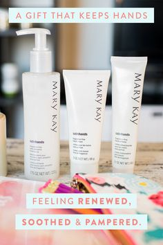 Our back-to-school (beauty) essential? Hands that feel renewed, soothed and pampered. | Mary Kay