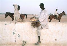 Chris Steele-Perkins 85 Chad. Southern Sahara. Racetrack