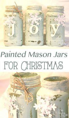 40+ DIY Mason Jar Ideas & Tutorials for Holiday (So many great ideas!)