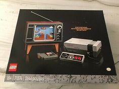 LEGO Nintendo Entertainment System NES 71374 Super Mario Nintendo, Best Lego Sets, Super Mario Brothers, Geek Gear, Kit, Entertainment System, Entertaining, Ebay, Building