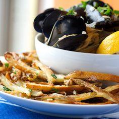 Parmesan-Parsley Baked Fries
