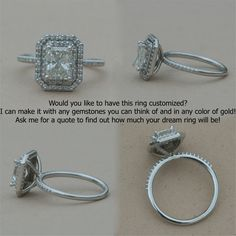 EGL+Certified+1.20+carat+Diamond+Engagement+by+LaurieSarahDesigns,+$8,102.65