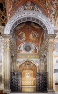 Happy Feast day of St Fina – March 12  Image 1 – Chapel of St Fina 1473-75 Fresco Collegiata, San Gimignano..........click to join us on A Yearbook of Saints | DEVOTIO