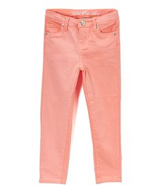 White Stretch Sateen Twill Pants - Girls | Twill pants, Pants and ...