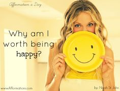 Why are you happy today?