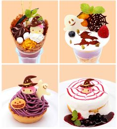 [New] The 10 Best Food Today (with Pictures) Halloween Desserts, Cute Desserts, Dessert Recipes, Dessert Food, Japanese Sweets, Japanese Candy, Desserts Japonais, Cute Food, Yummy Food