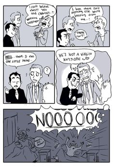 Dean's nightmare. I can hear Crowley say this in my head. Too funny.