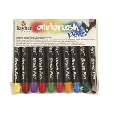Air Brush Pens, gemischt