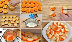 Orange peel and Gelatine