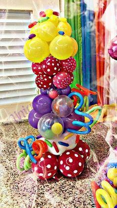 Decoracion candy en globos buscar con google proyectos que intentar pinterest caramelo y - Decoracion con caramelo ...