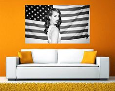 Lana Del Rey Poster GIANT poster Lana Del by AmazingPosterDesigns