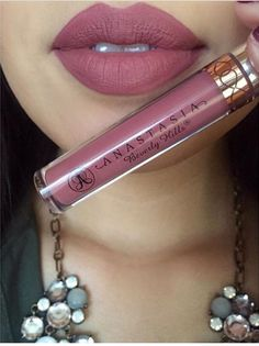 Anastasia Beverly Hills - Liquid Lipstick - Dusty Rose