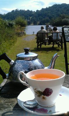 Tea at Faeryland, Grasmere, Lake District - I have this teapot, it was my mums she brought it back from england over 50 years ago. I love it and still use it :)