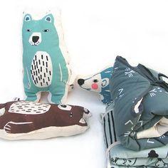 New mini cushion -Mattis polar bear
