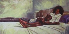 """""""No Burden's Too Heavy"""" by Alonzo Adams. I know that feeling all too well..."""
