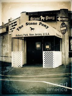 The legendary Stone Pony in Asbury Park, NJ - Launched the careers of Bruce Springsteen and Bon Jovi