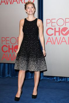 Julianne Hough and Elisha Cuthbert at 2012 Peoples Choice Award nominations
