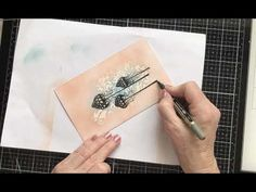 Lavinia Stamps and a Gesso Resist Technique. - YouTube Lavinia Stamps, Fairy, Youtube, Cards, Backgrounds, Tutorials, Silhouette, Inspiration, Plastering