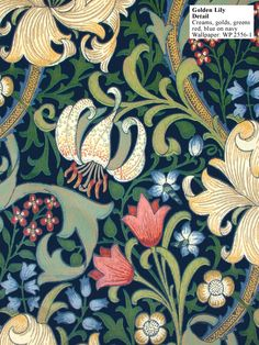 Historic Style - Golden Lily by William Morris