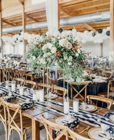 "Jane Rae Events on Instagram: ""Our in-house floral designer, Cam, went above & beyond on this one! The modern barn wedding. <3⁠ ⁠ ⁠  #weddinginspiration #weddingvenue…"" Centerpieces, Tall Centerpiece, Table Decorations, Modern Barn, Above And Beyond, Real Weddings, Wedding Venues, Floral Design, Wedding Inspiration"