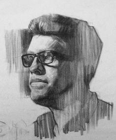 head demo, 2hr, charcoal on newsprint | http://www.pinterest.com/feliciaforte/drawings-class-demos-and-quick-sketch/