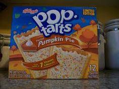 Mmmmm...pumpkin pie poptarts. Gotta find these