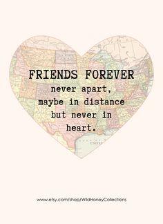 17 Best long distance friendship quotes images | Friendship ...
