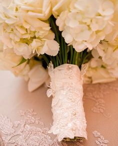 Of course, flowers are beautiful on their own, but there are tons of different ways to wrap your bridal bouquet to make them even more gorgeous. Here are a few we love.