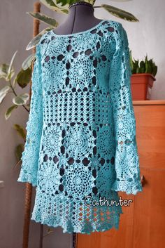 Crocheting Clothes : Crochet by Cathunter on Pinterest White crochet dresses, Crochet ...