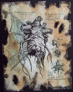 Items similar to ARKHAM EXPEDITION cthulhu larp prop lovecraft steampunk horror art on Etsy