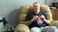 Man crochets hats for cancer patients, prison led him to pay it forward Hats For Cancer Patients, Lost My Job, Pay It Forward, Waiting For Her, Guy Names, Change My Life, His Hands, Losing Me, Helping Others