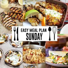 Welcome to our fifth weekly meal plan! (if you missed last week's you can find it here) I hope this plan makes your week just a little bit easier and inspires you in the kitchen! Every Sunday I will be sharing a list of yummy main dish ideas! This week's plan features a variety of …