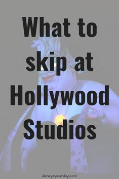 Whether you've planned a full day or half day at Hollywood Studios in Disney World, you may not have time for everything - that's why it's important to know what to skip at Hollywood Studios. Disney Cruise Tips, Disney Vacation Planning, Disney World Planning, Trip Planning, Disney World Parks, Disney World Vacation, Disney Vacations, Disney Travel, Family Vacations
