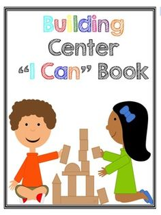 This freebie is a list of items your students can make in the blocks center. --great picture cues for each idea. Block Center Preschool, Kindergarten Centers, Kindergarten Classroom, Classroom Ideas, Classroom Organisation, Classroom Management, Organization, Play Based Learning, Learning Centers