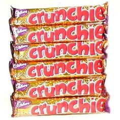 Crunchies are the absolute best candy bars. Anybody home??????????????? Please sell us your good candy here in the us, ok? ?  #Grocery and Gourmet Food #Candy and Chocolate #Bars