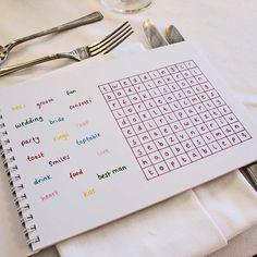 Children's Wedding Activity Book from notonthehighstreet.com