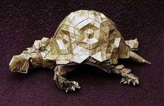 Origami Tortoise Eric Joisel