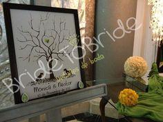 arbol de huellas / fingerprint / árbol de huellas / álbum de firmas original / album de bodas