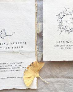Katharina Ostenda: Minimalistic botanical design with ginkgo