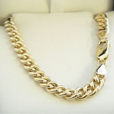 9ct Gold Round Curb Chain - MM-CUR-0017