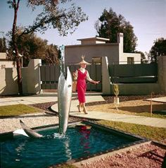 Mon-Oncle check this movie out from 1959. The clothes and design are amazing.