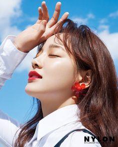 Gugudan's Sejeong in Nylon Korea July 2019