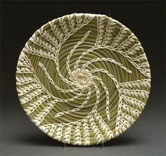 Coiled Basket (Tohono O'odham)