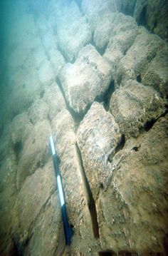A pyramid built by an unknown civilization found in Lake Fuxian, China