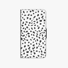 Dalmatian Faux Leather Phone Case - iPhone SE/5S