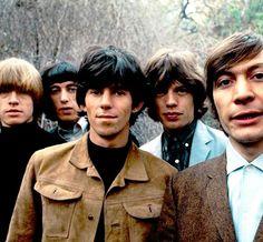 Brian Jones, Bill Wyman, Keith Richards, Mick Jagger and Charlie Watts