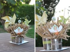 Invitations on pinterest for Decoration jardin bapteme