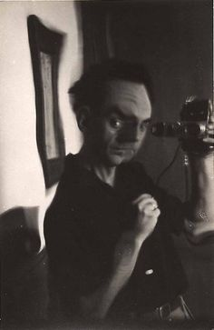MAN RAY :: Self Portrait #distortion, c. 1930's  #portrait