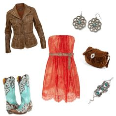 Leather: Meet Lace... wish I could pull this off