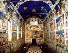 Dedicada à Santa Maria della Carità, a Capella degli Scrovegni foi erguida em Pádua, Itália, entre 1303 e 1305, sob o patrocínio de Enrico degli Scrovegni. Uma das mais importantes obras-primas da arte ocidental, merece esse título por conter, em seu interior, afrescos de Giotto di Bondone.